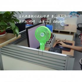 Kipas Portable Handheld Cooling Fan dengan Baterai 18650 - HF308 - Pink - 6