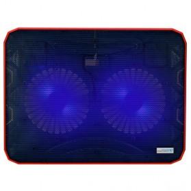 ICE2 Notebook Cooler High Speed 2 Fan - Black - 2