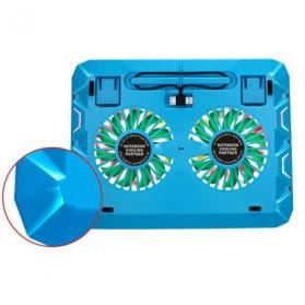 ICE2 Notebook Cooler High Speed 2 Fan - Black - 3