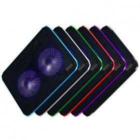 ICE2 Notebook Cooler High Speed 2 Fan - Black - 4