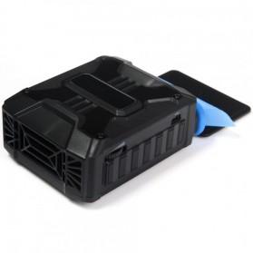 Taffware Universal Laptop Vacuum Cooler - V6 - Black - 6