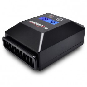 Yuosong Universal Laptop LCD Intelligent Vacuum Cooler - V5 - Black - 5