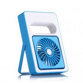 Rechargeable Dora Mini Portable Fan / Kipas Angin Mini - Blue