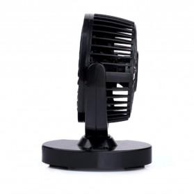 Huxin Kipas Mobil 360 Degree Mini Electric Car Fan - Black - 3
