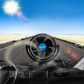 Huxin Kipas Mobil 360 Degree Mini Electric Car Fan - Black - 5