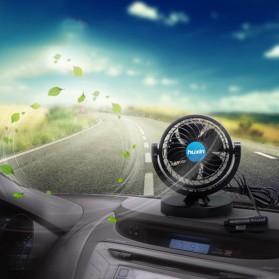 Huxin Kipas Mobil 360 Degree Mini Electric Car Fan - Black - 6