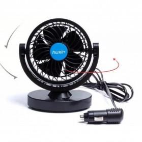 Huxin Kipas Mobil 360 Degree Mini Electric Car Fan - Black - 9