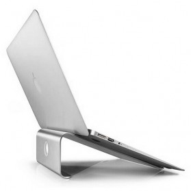 Easya Aluminium Stand Holder Laptop - NP-5 - Silver