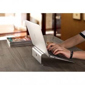 Easya Aluminium Stand Holder Laptop - NP-5 - Silver - 4