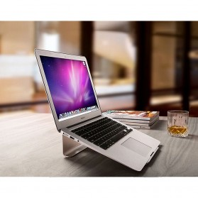 Easya Aluminium Stand Holder Laptop - NP-5 - Silver - 6