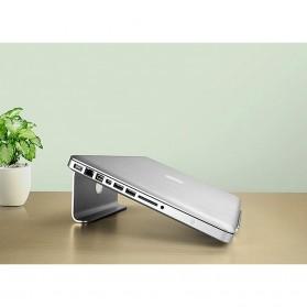 Easya Aluminium Stand Holder Laptop - NP-5 - Silver - 9