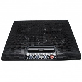 Cooling Pad Laptop - M8 - Black