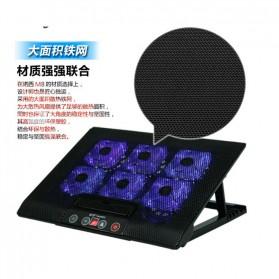 Cooling Pad Laptop - M8 - Black - 8