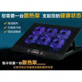Cooling Pad Laptop - M8 - Black - 10