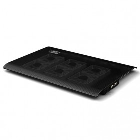 Cooling Pad Laptop - L112B - Black