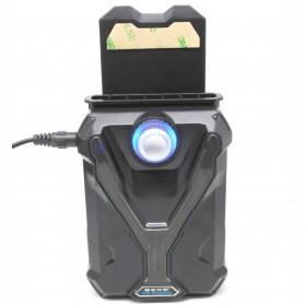 Universal Laptop Super Vacuum Cooler - Black - 4