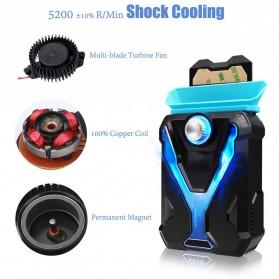 Universal Laptop Super Vacuum Cooler - Black - 6