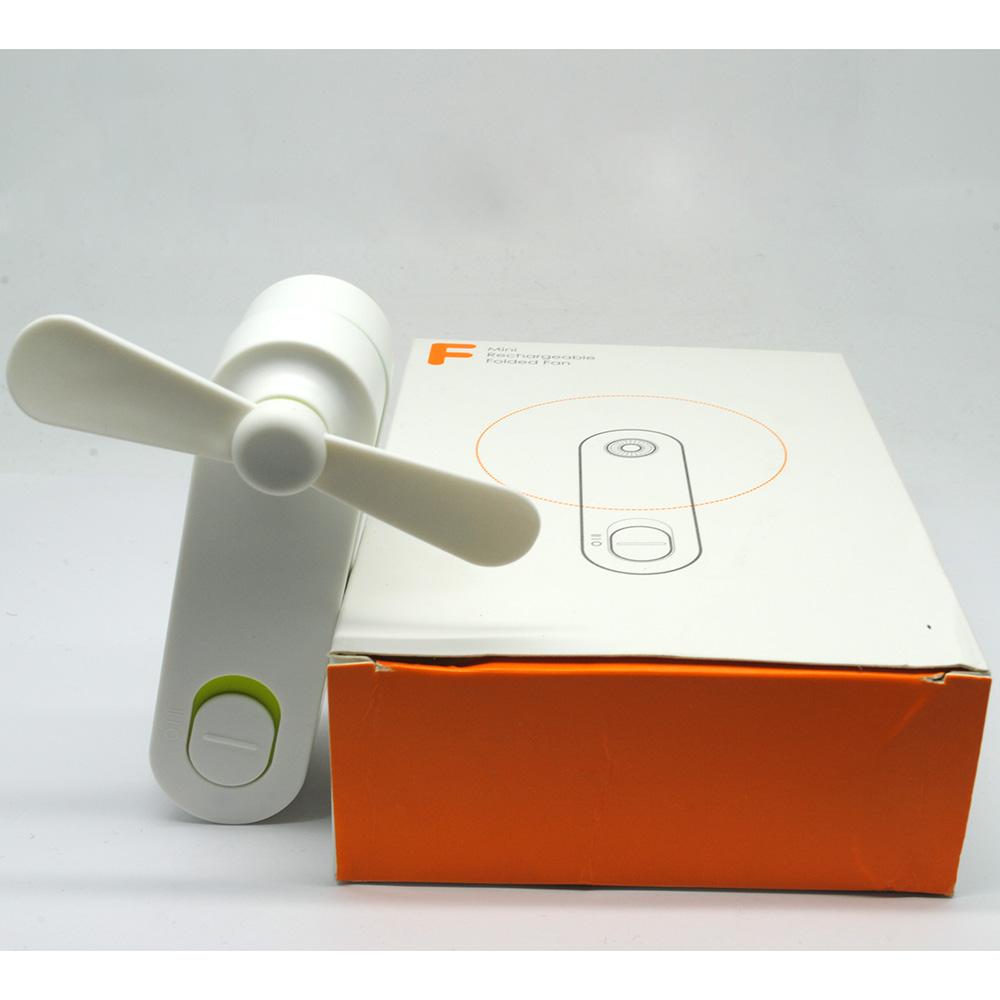 Kipas Usb Harga Murah Angin Mini Ac Portable Duduk Twin Double Fan Parfum Tangan Green