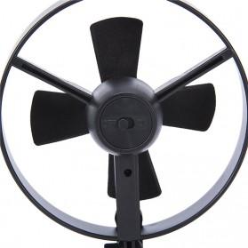 Kipas Angin USB dengan Suction Cup - Black - 3