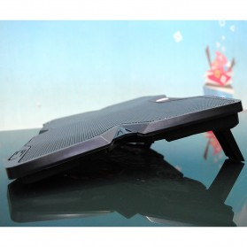 Cooling Pad Laptop Model Butterfly - Black - 2