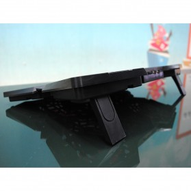 Cooling Pad Laptop Model Butterfly - Black - 3