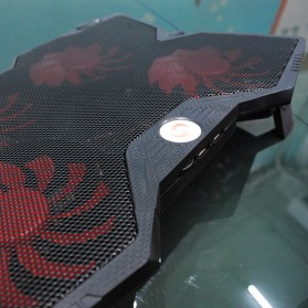 Cooling Pad Laptop Model Butterfly - Black - 4