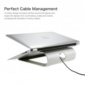 SEENDA Aluminium Stand Holder Laptop 11-15 Inch - WG-Z13 - Silver - 4