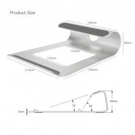 SEENDA Aluminium Stand Holder Laptop 11-15 Inch - WG-Z13 - Silver - 6