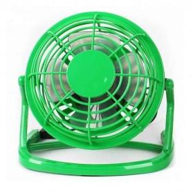 USB Fan 360 Degree Rotation Model UF009-1 - Green
