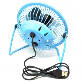 SANHUAI Kipas Angin USB - UF009-2 - Blue - 3