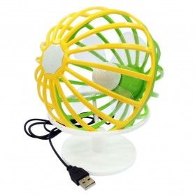 Kipas USB Globe Model UF012 - Multi-Color