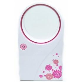 USB Fan No Leaf Air Condition Model UF020-1 - Pink
