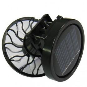 Kipas Angin Mini Jepit Topi Tenaga Solar - Black - 3