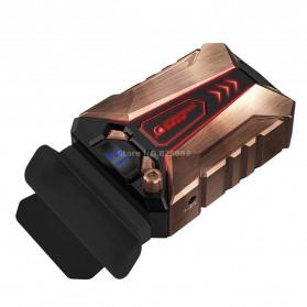 CoolCold Ice Devil 7 Universal Laptop Vacuum Cooler - Golden