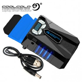 CoolCold Ice Troll 5 Universal Laptop Vacuum Cooler - Black