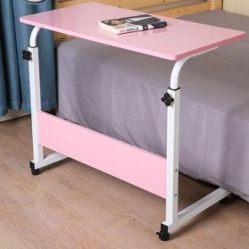 NEWNEST Meja Laptop Lipat Adjustable Portable Rotate Laptop Desk - ND02 - Pink