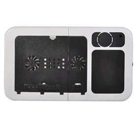 Meja Laptop Multifungsi - LD09 - Black - 5