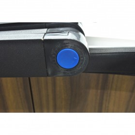 Multi Functional Laptop Table with USB Fan - T8 - Black - 5