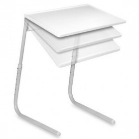 Table Mate II Meja Laptop Lipat Portable Laptop - White - 2