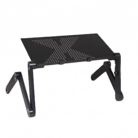 Taffware Meja Laptop Portable Table Length 42 x 26 cm - Z19 - Black