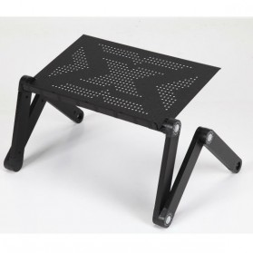 Portable Laptop Table Length 48cm - Black