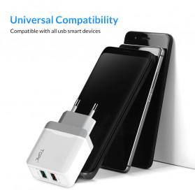 TOPK Charger USB Fast Charging 2 Port QC3.0 28W - B244Q - White - 6