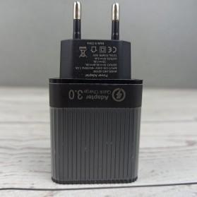 TOPK Charger USB Fast Charging 2 Port QC3.0 28W - B348Q - Black - 3