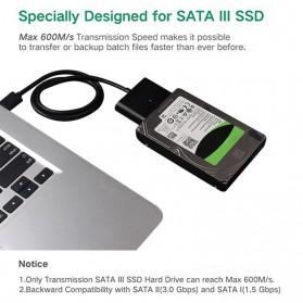 SATA to USB 3.0 HDD / SSD Adapter - UT-3112 - Black - 10