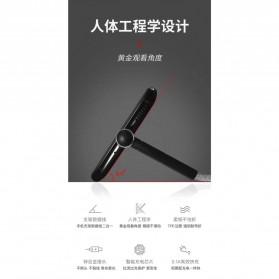 Kabel Charger 3 in 1 Lightning 8 Pin Micro USB Type C L Shape 1 Meter - DC108 - Black - 3