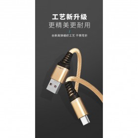 Essager Kabel Charger SuperCharger USB Type C 1 Meter 5A - EX2 - Black - 2