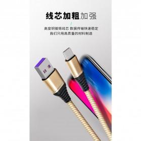 Essager Kabel Charger SuperCharger USB Type C 1 Meter 5A - EX2 - Black - 3