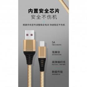 Essager Kabel Charger SuperCharger USB Type C 1 Meter 5A - EX2 - Black - 4