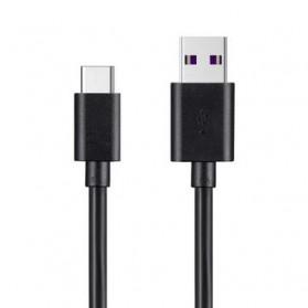 Essager Kabel Charger SuperCharger USB Type C 1 Meter 5A - EX3 - Black - 2