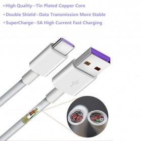 Essager Kabel Charger SuperCharger Lightning 1 Meter 5A - EX3 - White - 2